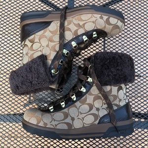 "Brand New Coach ""Tailor"" Snow Boots (size 8)"